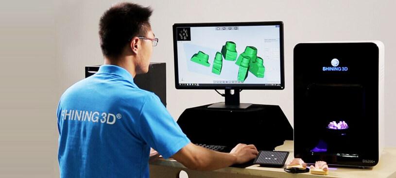 体验3D扫描仪